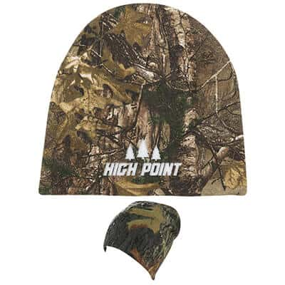 Embroidered logoed realtree edge beanie.