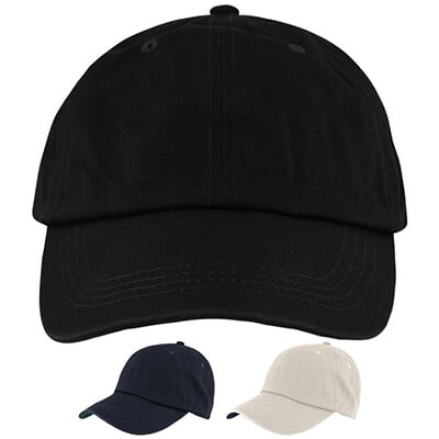 Blank black with black hat.