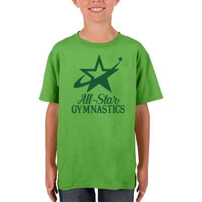 Electric green child printable t shirt.
