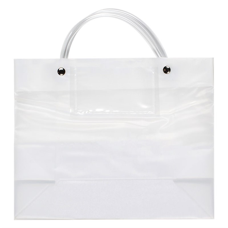 Personalized Plastic Tote Bag