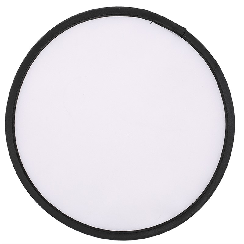 210d polyester foldable flying disc blank.
