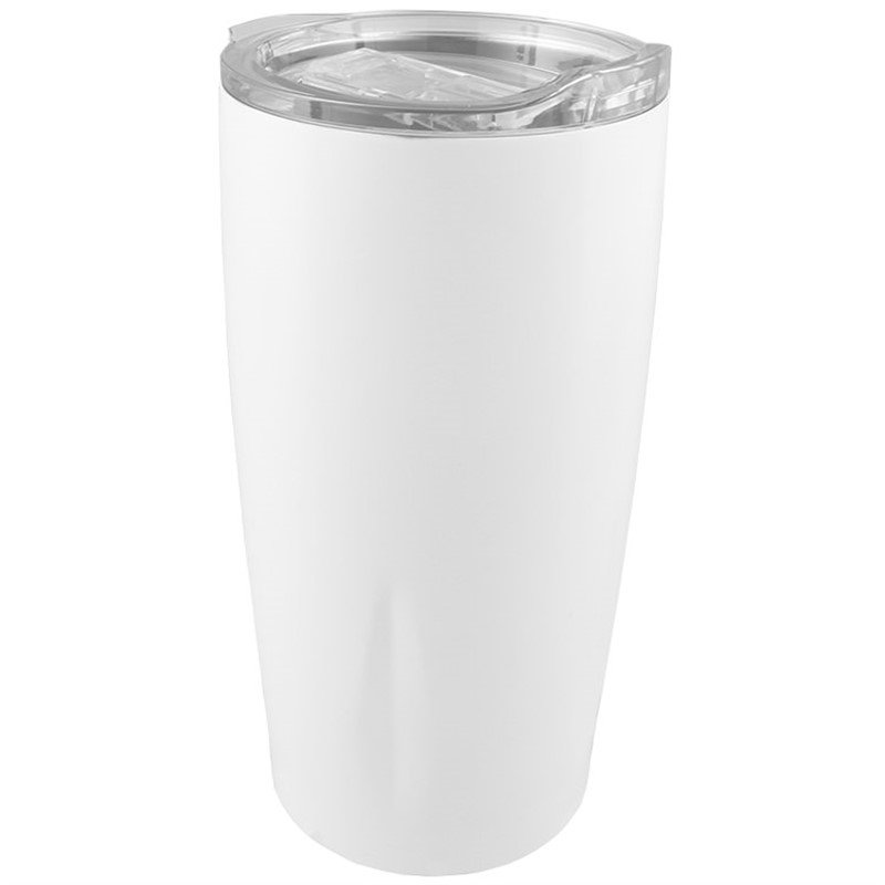 Stainless steel tumbler blank in 20 ounces.