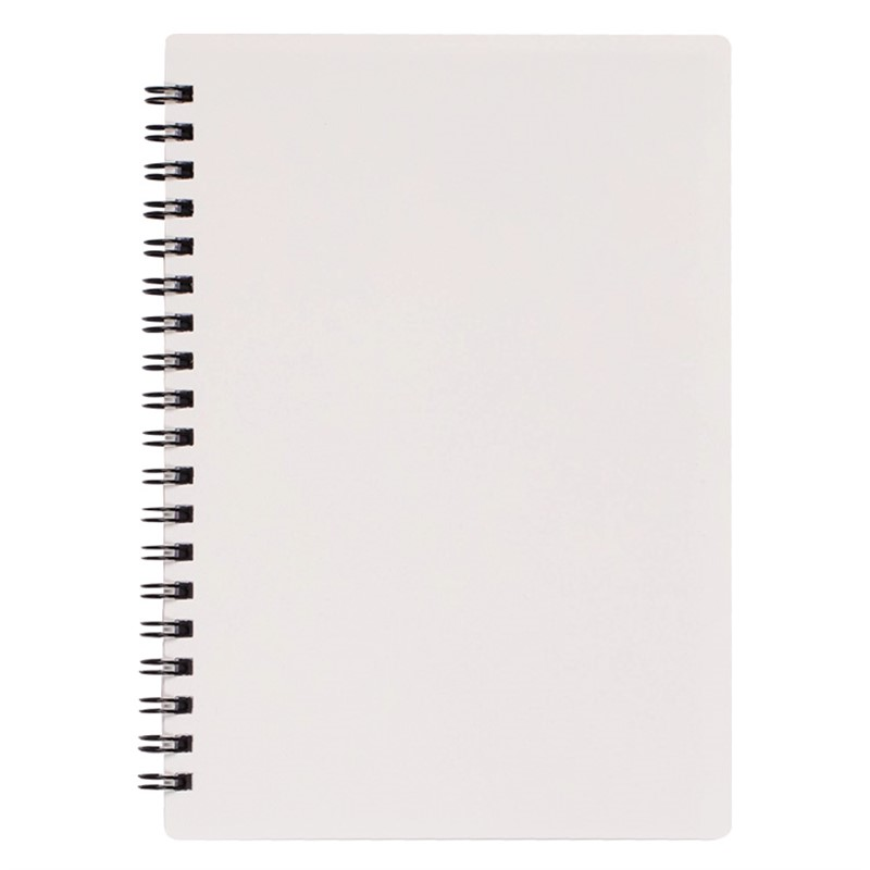 custom polypropylene notebook