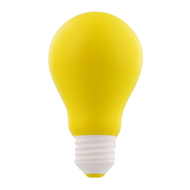 Light Bulb Shaped Stress Ball