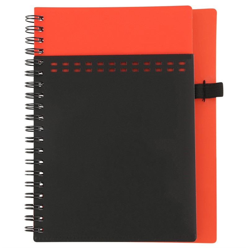 Blank Pocket Cover Notebook