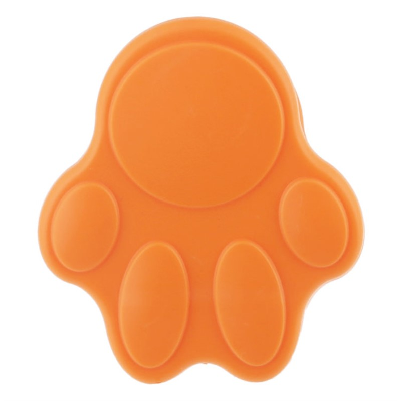 Blank Paw Shaped Magnet Clip