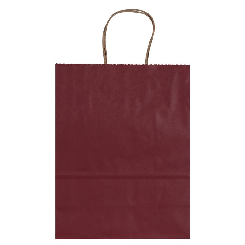 Paper matte recyclable bag.