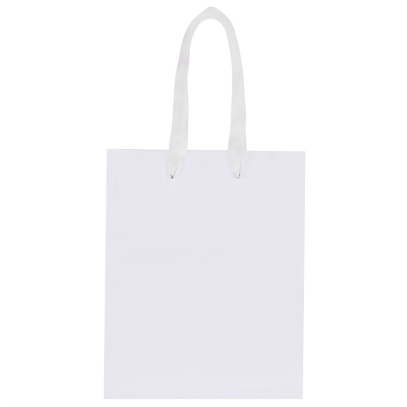 Kraft paper 8 inch eurotote with handles blank.