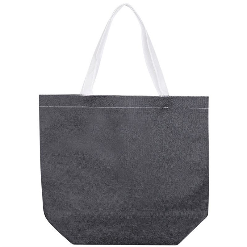 Custom Leather-Like Polypro Tote