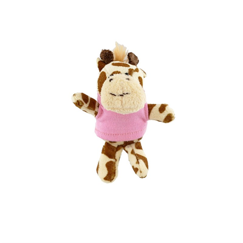 Plush and cotton magnet giraffe blank.
