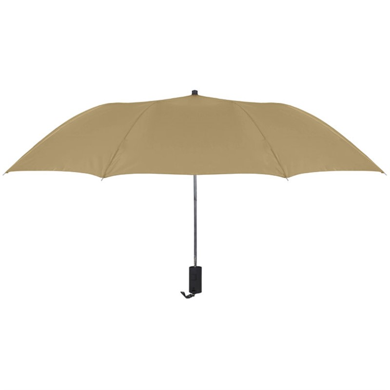 Nylon 44 inch folding automatic umbrella with wrist strap blank.