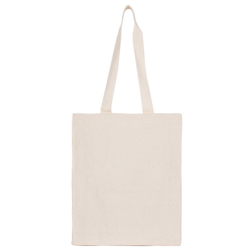 Blank Cotton Canvas Book Tote