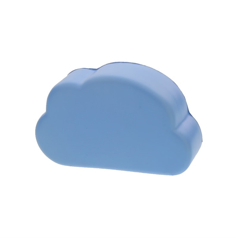 Foam cloud stress ball.