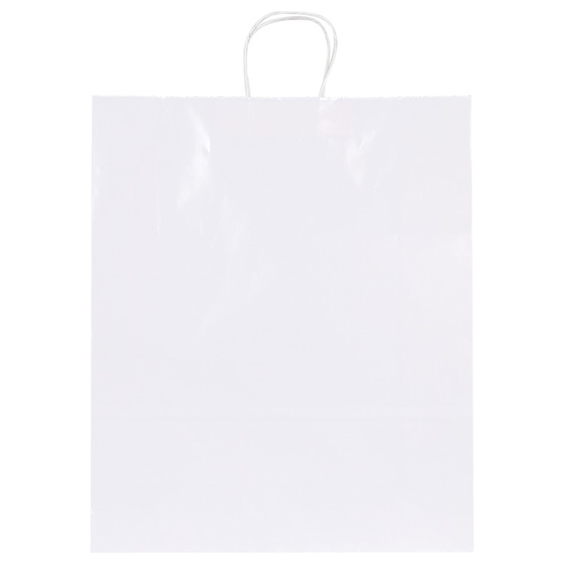 Custom White Paper Bag