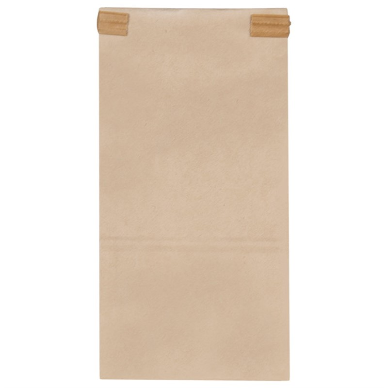 Paper and polypropylene small coffee bag.
