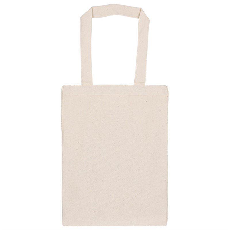 Blank Gusseted Cotton Shoppers Tote
