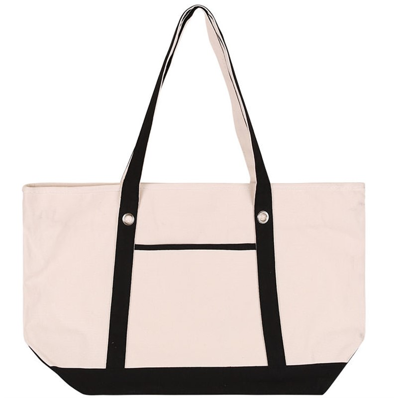 Full Color Large Cotton Sailor Tote Bag