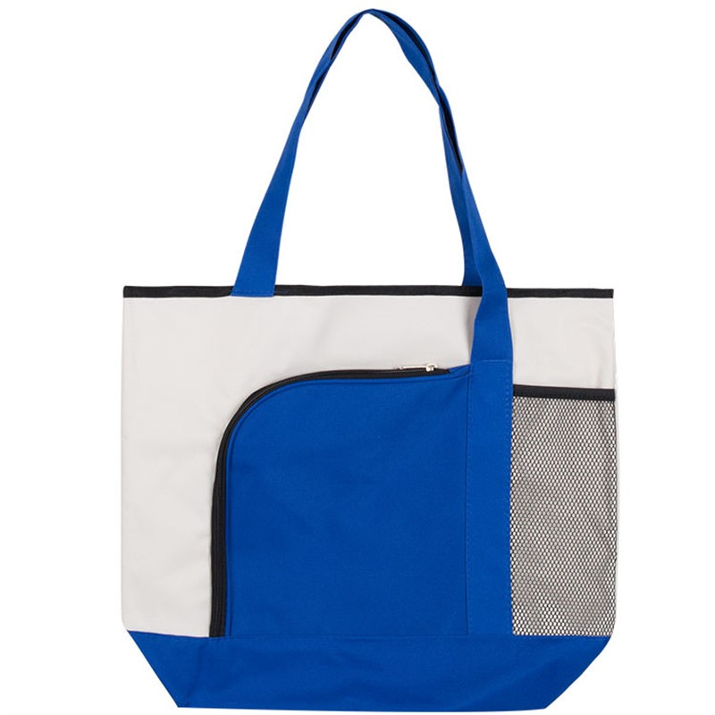 Full Color Curve Tote Bag