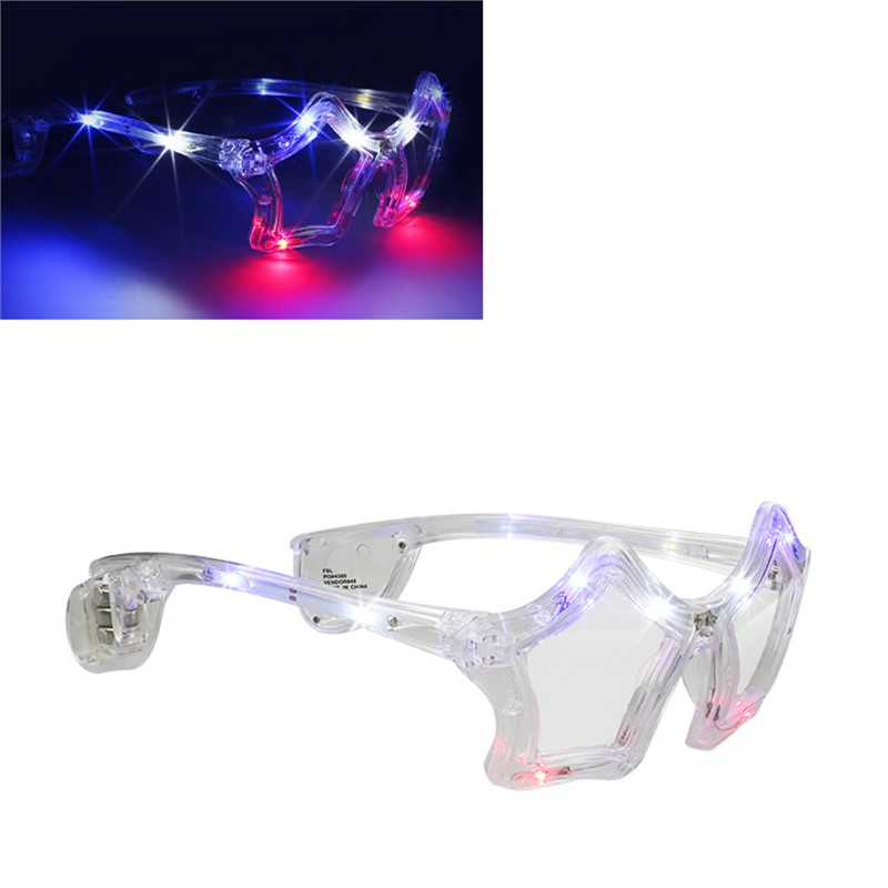 LED Star Shaped Sunglasses