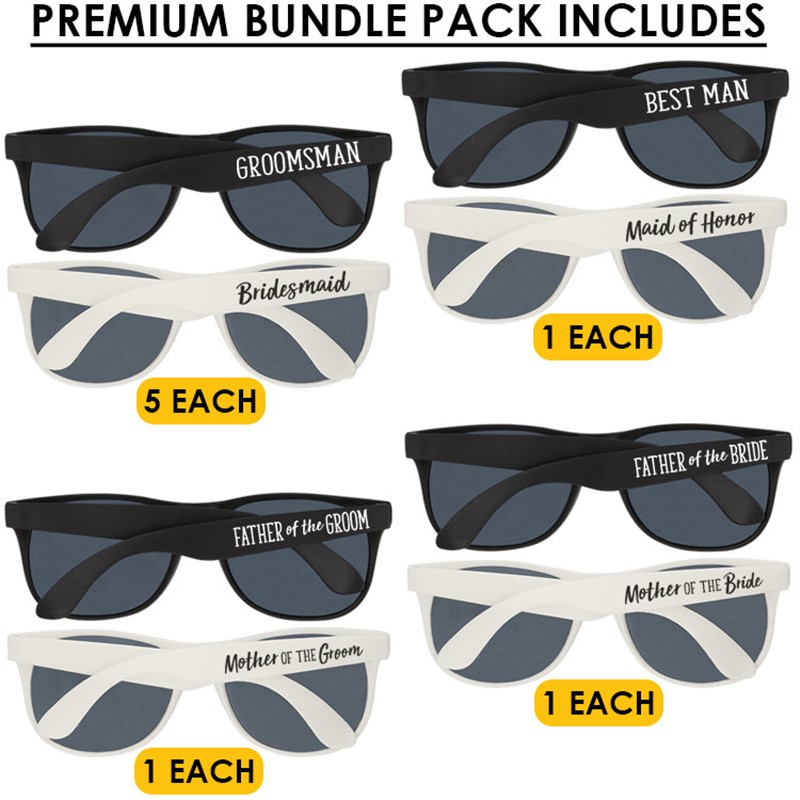 Wedding Sunglasses Bundle