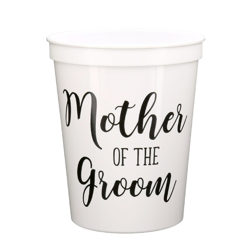 Mother of the Groom Wedding Party Cup