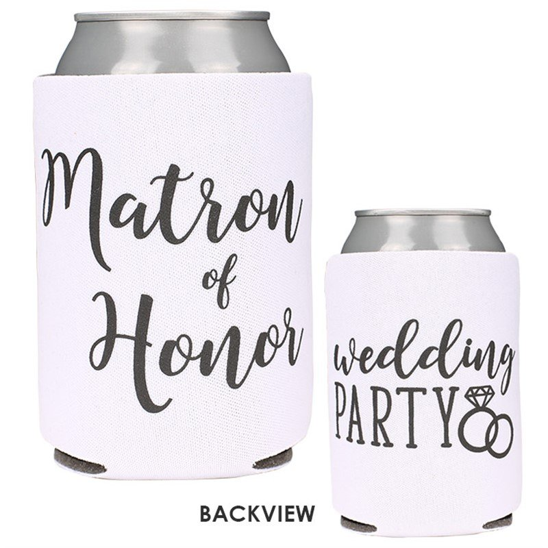 Matron of Honor Wedding Party Can Cooler