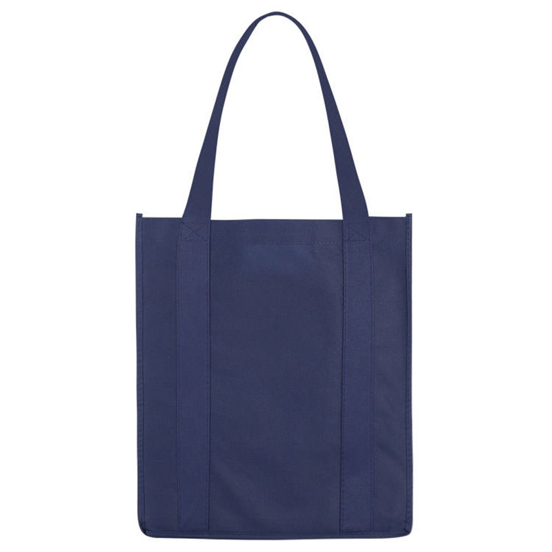 Polypropylene tote with matching bottom insert.