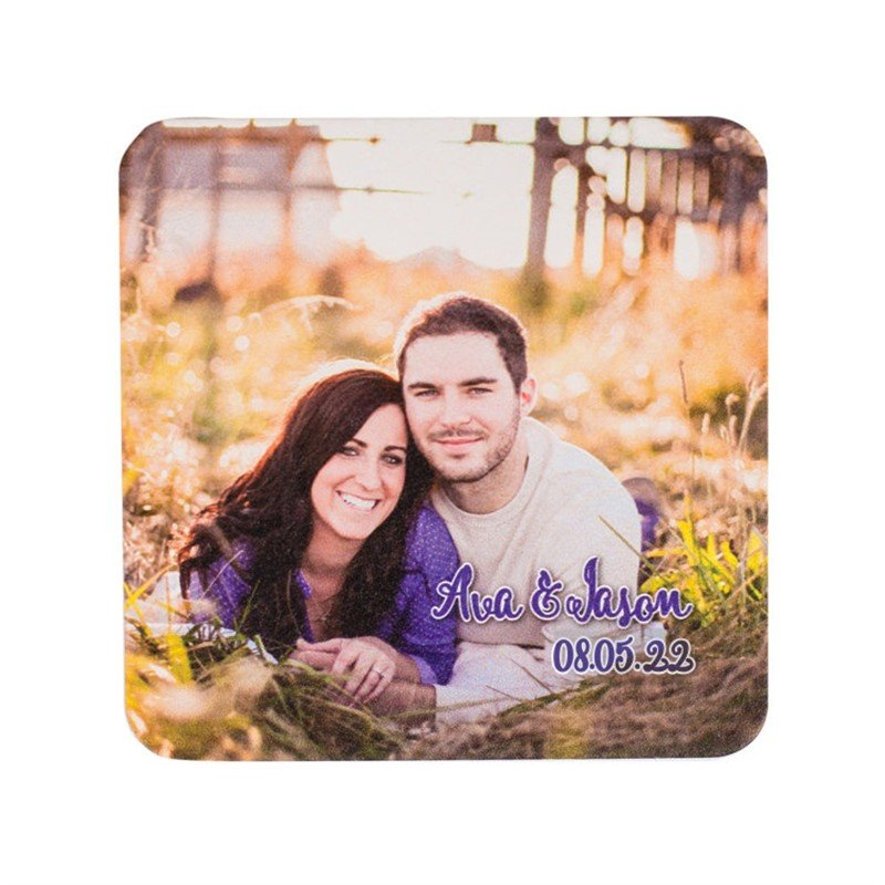 Photo Wedding Coasters