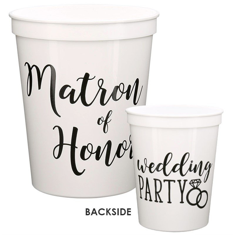 Matron of Honor Wedding Party Cup